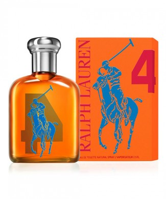 Polo Big Pony Orange #4 (125 ML / 4.2 FL OZ)