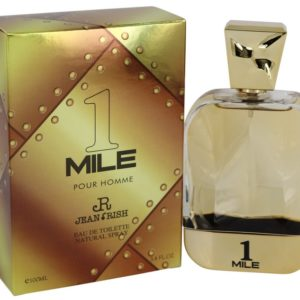 1 Mile Pour Homme by Jean Rish Eau De Toilette Spray 100ml for Men
