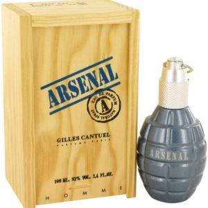ARSENAL BLUE by Gilles Cantuel Eau De Parfum Spray 100ml for Men