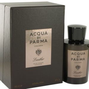 Acqua Di Parma Colonia Leather by Acqua Di Parma Eau De Cologne Concentree Spray 100ml for Men