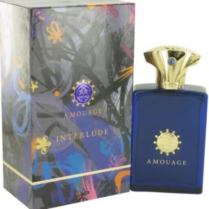 Amouage Interlude by Amouage Eau De Parfum Spray 100ml for Men