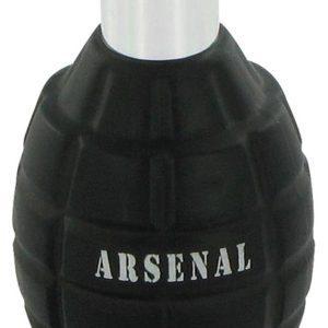 Arsenal Black by Gilles Cantuel Eau De Parfum Spray (Tester) 100ml for Men