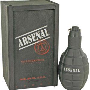 Arsenal Black by Gilles Cantuel Eau De Parfum Spray 100ml for Men