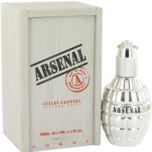 Arsenal Platinum by Arsenal Eau De Parfum Spray 100ml for Men