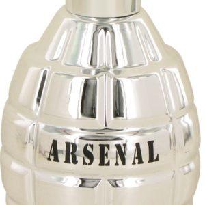 Arsenal Platinum by Arsenal Eau De Parfum Spray (Tester) 100ml for Men