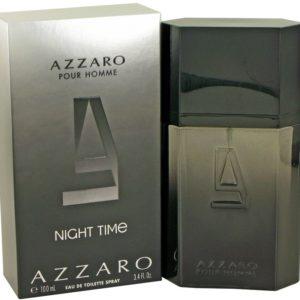 Azzaro Night Time by Azzaro Eau De Toilette Spray 100ml for Men
