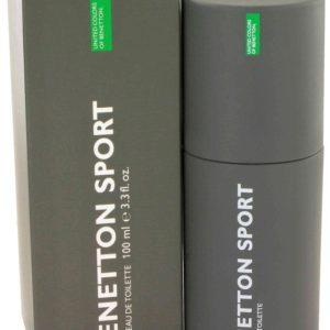 BENETTON SPORT by Benetton Eau De Toilette Spray 100ml for Men