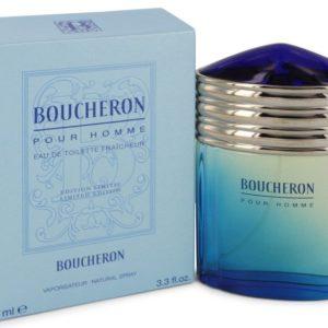BOUCHERON by Boucheron Eau De Toilette Fraicheur Spray (Limited Edition) 100ml for Men