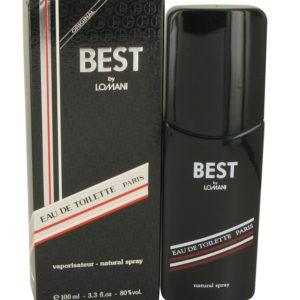 Best by Lomani Eau De Toilette Spray 100ml for Men