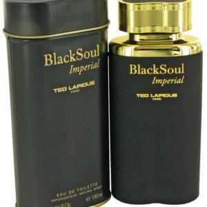 Black Soul Imperial by Ted Lapidus Eau De Toilette Spray 98ml for Men