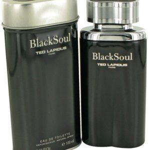 Black Soul by Ted Lapidus Eau De Toilette Spray 100ml for Men