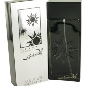 Black Sun by Salvador Dali Eau De Toilette Spray 100ml for Men