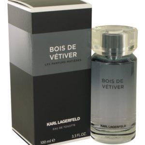 Bois De Vetiver by Karl Lagerfeld Eau De Toilette Spray 100ml for Men