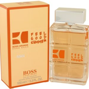 Boss Orange Feel Good Summer by Hugo Boss Eau De Toilette Spray 100ml for Men