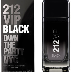 Carolina Herrera 212 VIP Black Eau De Parfum for men (100 ML / 3.4 FL OZ)