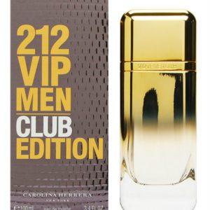 Carolina Herrera 212 VIP men club edition (100 ml / 3.4 FL OZ)