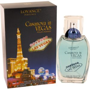 Casanova in Vegas by Lovance Eau De Toilette Spray 100ml for Men