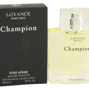 Champion by Lovance Eau De Toilette Spray 100ml for Men