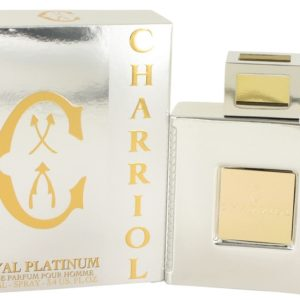Charriol Royal Platinum by Charriol Eau De Parfum Spray 100ml for Men