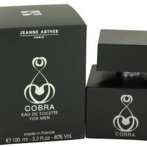 Cobra by Jeanne Arthes Eau De Toilette Spray 100ml for Men