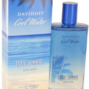 Cool Water Exotic Summer by Davidoff Eau De Toilette Spray (limited edition) 125ml for Men