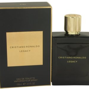 Cristiano Ronaldo Legacy by Cristiano Ronaldo Eau De Toilette Spray 100ml for Men