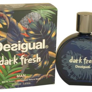 Desigual Dark Fresh by Desigual Eau De Toilette Spray 100ml for Men