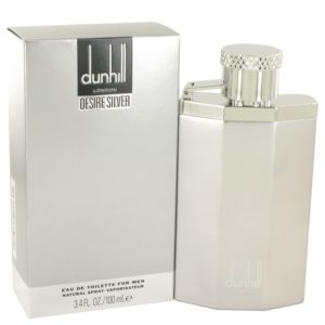 Desire Silver London by Alfred Dunhill Eau De Toilette Spray 100ml for Men