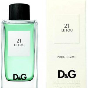Dolce & Gabbana Le Fou 21 for men (100 ML / 3.4 FL OZ)