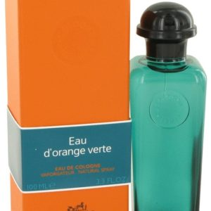 EAU D'ORANGE VERTE by Hermes Eau De Cologne Spray (Unisex) 100ml for Men