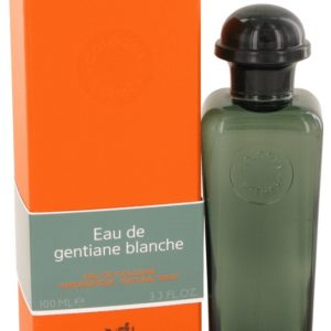 Eau De Gentiane Blanche by Hermes Eau De Cologne Spray (Unisex) 100ml for Men
