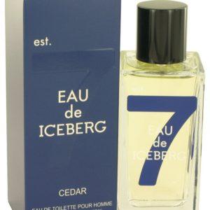 Eau De Iceberg Cedar by Iceberg Eau De Toilette Spray 100ml for Men