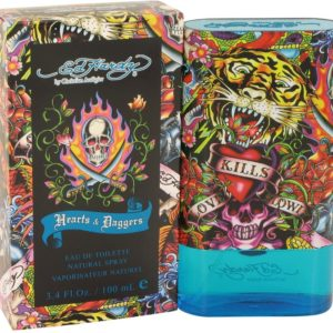 Ed Hardy Hearts & Daggers by Christian Audigier Eau De Toilette Spray 100ml for Men