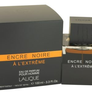 Encre Noire A L'extreme by Lalique Eau De Parfum Spray 100ml for Men