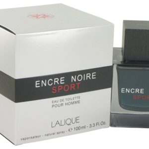 Encre Noire Sport by Lalique Eau De Toilette Spray 100ml for Men