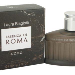 Essenza Di Roma Uomo by Laura Biagiotti Eau De Toilette Spray 125ml for Men