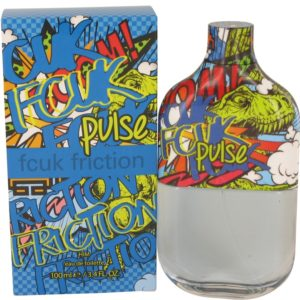 FCUK Friction Pulse by French Connection Eau De Toilette Spray 100ml for Men