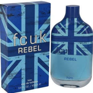 FCUK Rebel by French Connection Eau De Toilette Spray 100ml for Men
