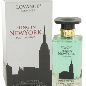 Fling In New York by Lovance Eau De Toilette Spray 100ml for Men