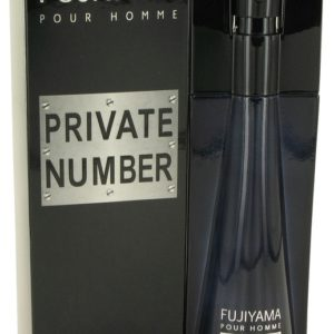 Fujiyama Private Number by Succes De Paris Eau De Toilette Spray 100ml for Men