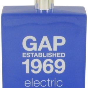 Gap 1969 Electric by Gap Eau De Toilette Spray (Tester) 100ml for Men