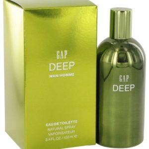 Gap Deep by Gap Eau De Toilette Spray 100ml for Men