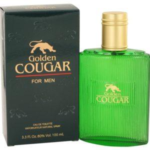 Golden Cougar by Paris Perfumes Eau De Toilette Spray 100ml for Men