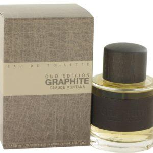 Graphite Oud Edition by Montana Eau De Toilette Spray 100ml for Men