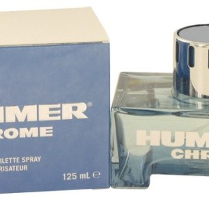 Hummer Chrome by Hummer Eau De Toilette Spray 125ml for Men