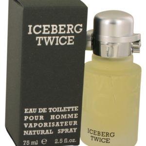 ICEBERG TWICE by Iceberg Eau De Toilette Spray 75ml for Men