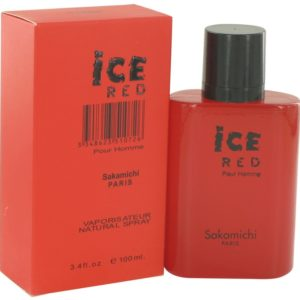 Ice Red by Sakamichi Eau De Parfum Spray 100ml for Men