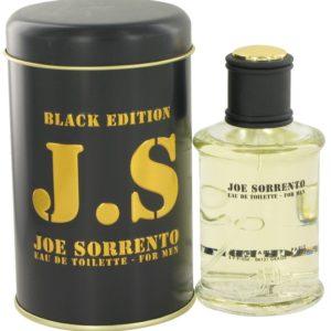 Joe Sorrento Black by Jeanne Arthes Eau De Toilette Spray 100ml for Men