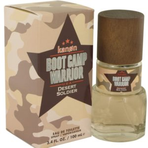 Kanon Boot Camp Warrior Desert Soldier by Kanon Eau De Toilette Spray 100ml for Men