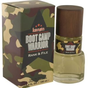 Kanon Boot Camp Warrior Rank & File by Kanon Eau De Toilette Spray 100ml for Men